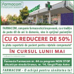 Promotia lunii mai FARMACOM