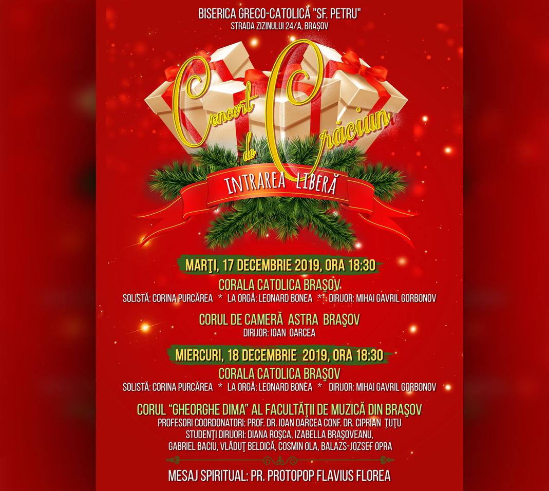 Concert de Crăciun  17-18 decembrie 2019